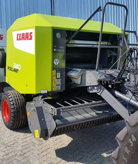SPECIAL: New Claas Rollant 340 Balers