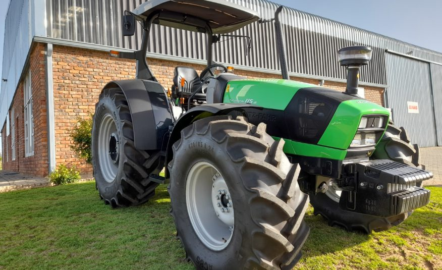 New: Deutz-Fahr Agrofarm 115G GS